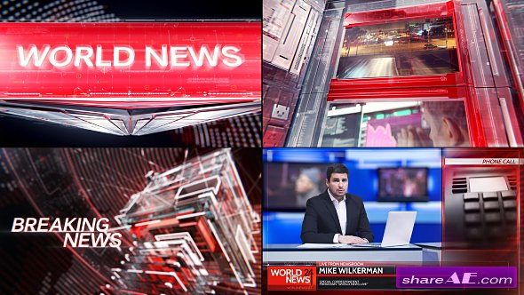Broadcast Graphic Package - 01 - Videohive