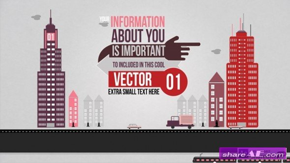 Vertical Scroll - After Effects Template (Pond5)