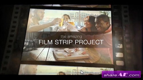 Film Strip Slideshow - After Effects Project (motionVFX)