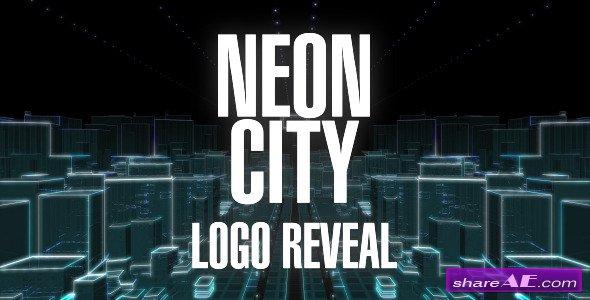 Neon City Logo Reveal - Videohive