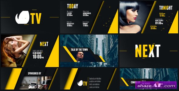 Entertainment TV Broadcast Package - Videohive
