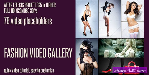 Fashion Video Gallery - Videohive