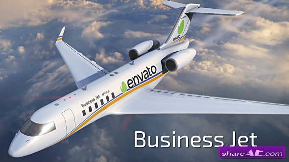 Business Jet - Videohive