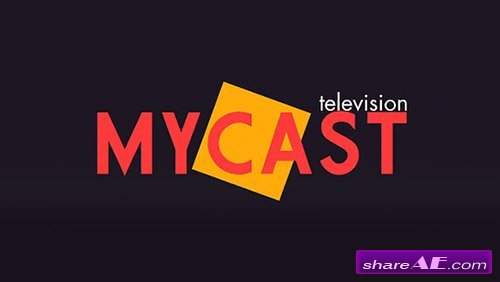 Mycast Title - After Effects Project (MotionVFX)