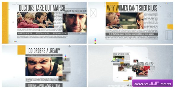 Newspaper Promo - Videohive