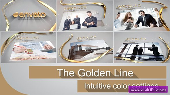 The Golden Line - Videohive