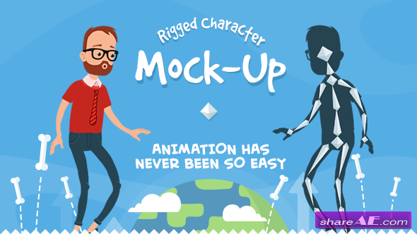 Rigmo - Rigged Character Animation Mockup - Videohive » Free After ...