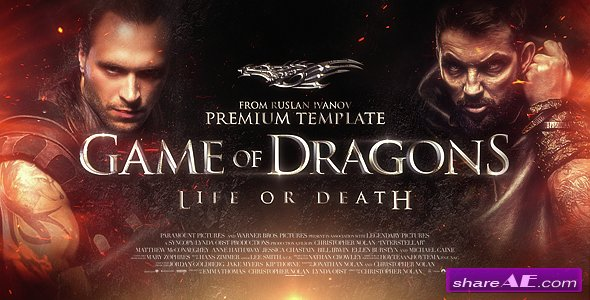 Trailer Game of Dragons - Videohive
