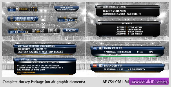 Complete On-Air Hockey Package - Videohive