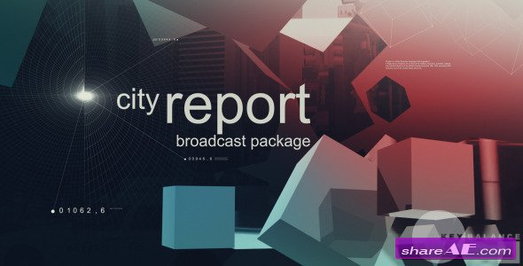 City Report Broadcast Package - Videohive