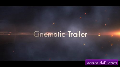 Epic Cinematic Trailer - After Effects Template (MotionVFX)