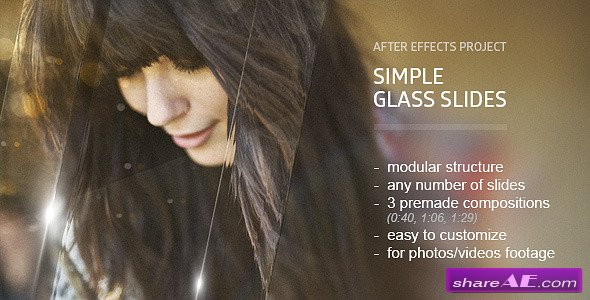 Glass Slides - Videohive