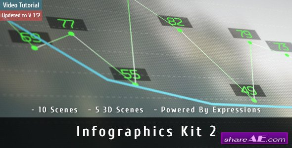 Videohive Infographics Kit 2 - After Effects Templates
