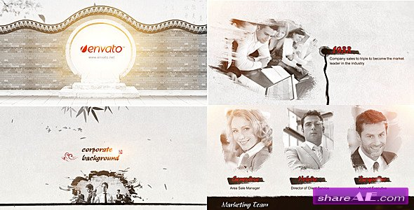 Videohive Ink Corporate - After Effects Templates