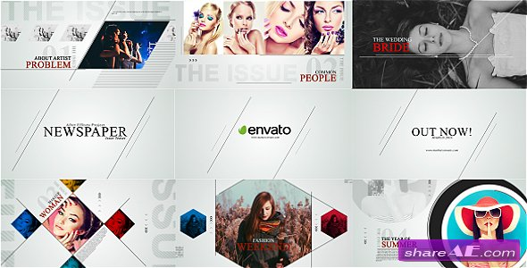 Videohive Newspaper Issue Teaser - After Effects Templates