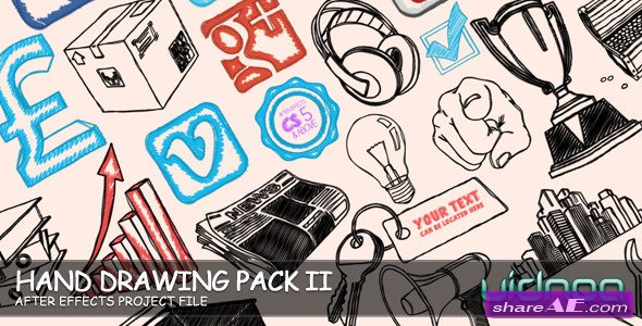 Videohive Hand Drawing Pack II - After Effects Templates