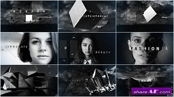 Videohive Geometry - After Effects Templates