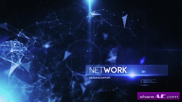 Videohive Plexus Inspire Corporate Tech Intro - After Effects Templates