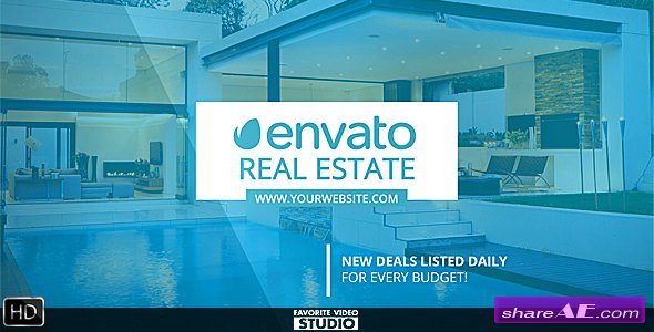 Videohive Real Estate Gallery - After Effects Templates