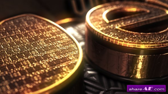 Videohive Gold Treasure Logo - After Effects Templates