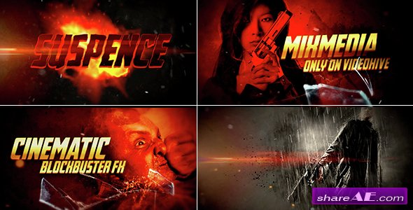 Videohive Epic Action Promo - After Effects Templates