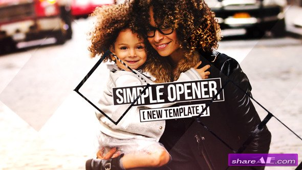 Videohive Rhombus Slideshow - After Effects Templates