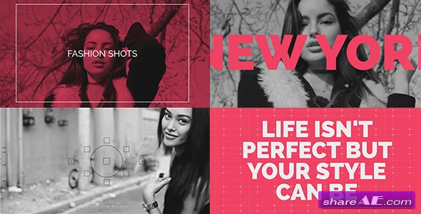 Videohive Fashion Shots - After Effects Templates