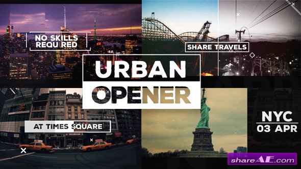 Videohive Urban Opener - After Effects Templates