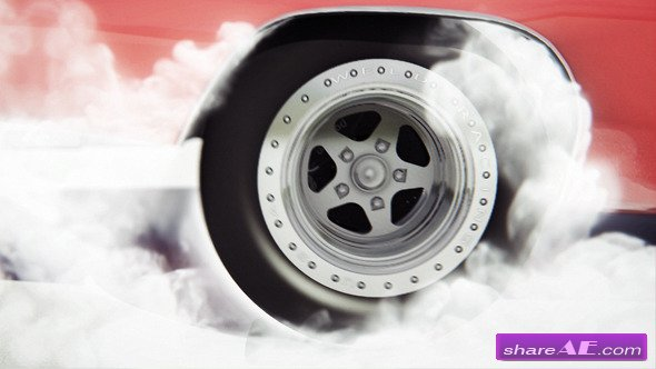 Videohive Car Burnout - After Effects Templates