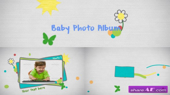 Videohive Baby Photo - After Effects Templates