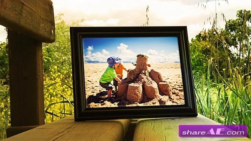 Photo Frames On Nature 2 - After Effects Template (Pond5)
