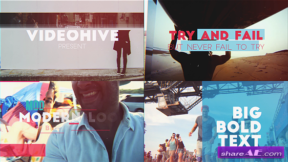 Videohive Inspirational Slideshow - After Effects Templates