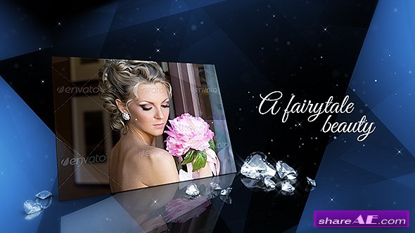 Videohive Luxury of Diamonds � Elegant Slideshow - After Effects Templates