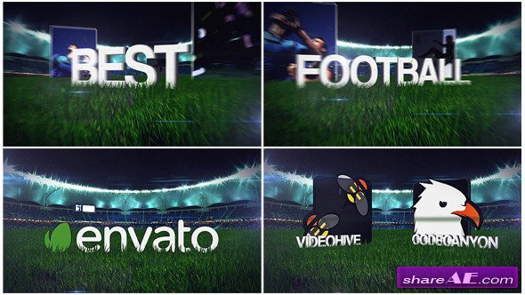 Videohive Football Soccer Field Opener - After Effects Templates