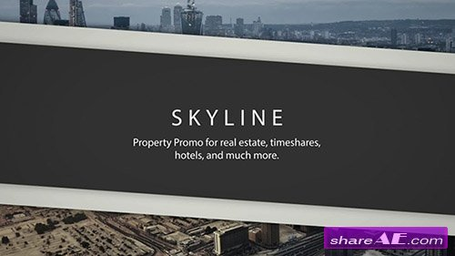 Skyline - Property Promo - After Effects Project (Rocketstock)