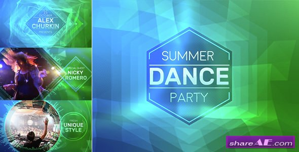 Videohive Summer Party - After Effects Templates