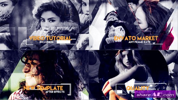 Videohive Geometric Opener - After Effects Templates