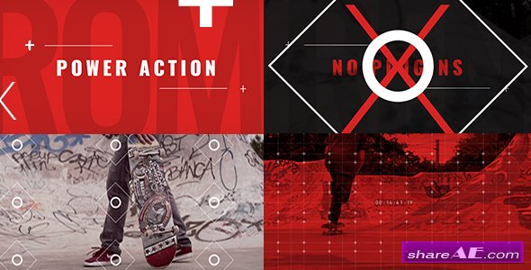 Videohive Power Action Promo - After Effects Templates