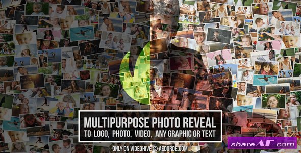 Videohive Multipurpose Photo Reveal - After Effects Templates