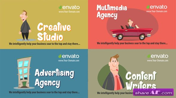 Videohive Advertising Agency - After Effects Templates