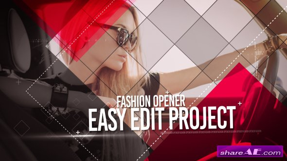 Videohive Fashion Opener - After Effects Templates