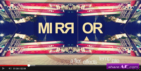 Videohive Mirror Titles - After Effects Templates