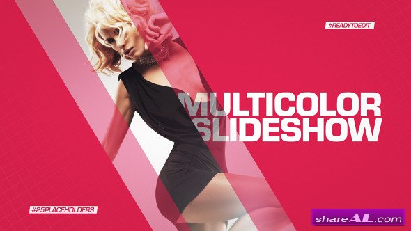 Videohive Multicolor Slideshow - After Effects Templates