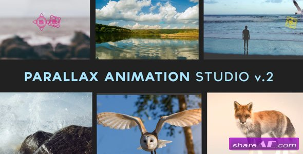 Videohive Parallax Animation Studio - After Effects Templates