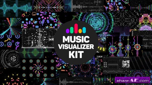 Videohive Music Visualizer Kit - After Effects Templates