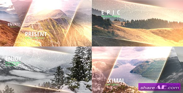 Videohive Elegant Stripes Opener - After Effects Templates
