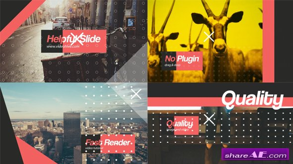 Videohive Helpful Slide - After Effects Templates