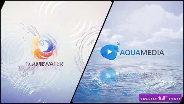 Videohive Clean Logo V03 Water Ripples - After Effects Templates