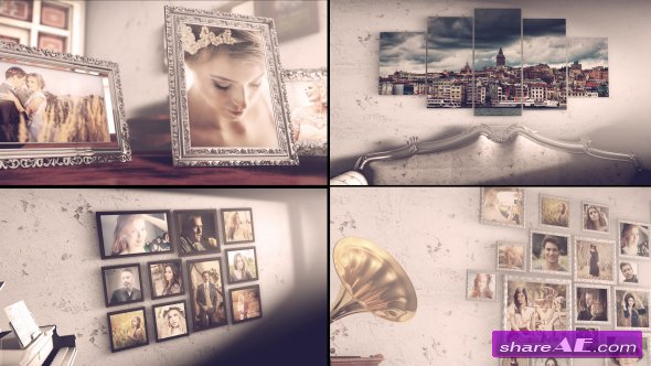 Videohive Vintage Photo Slide - After Effects Templates