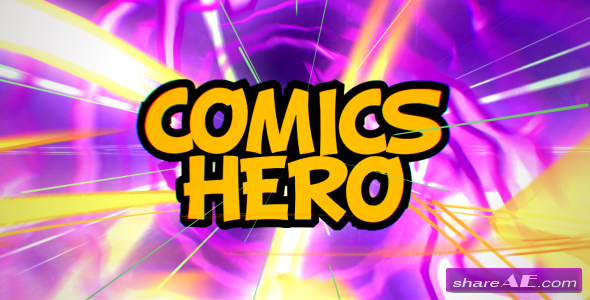 Videohive Comics Hero (Broadcast Pack) - After Effects Templates